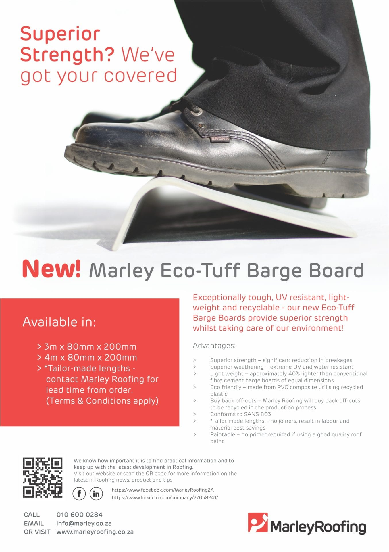 Eco-Tuff Barge Board Brochure Cover