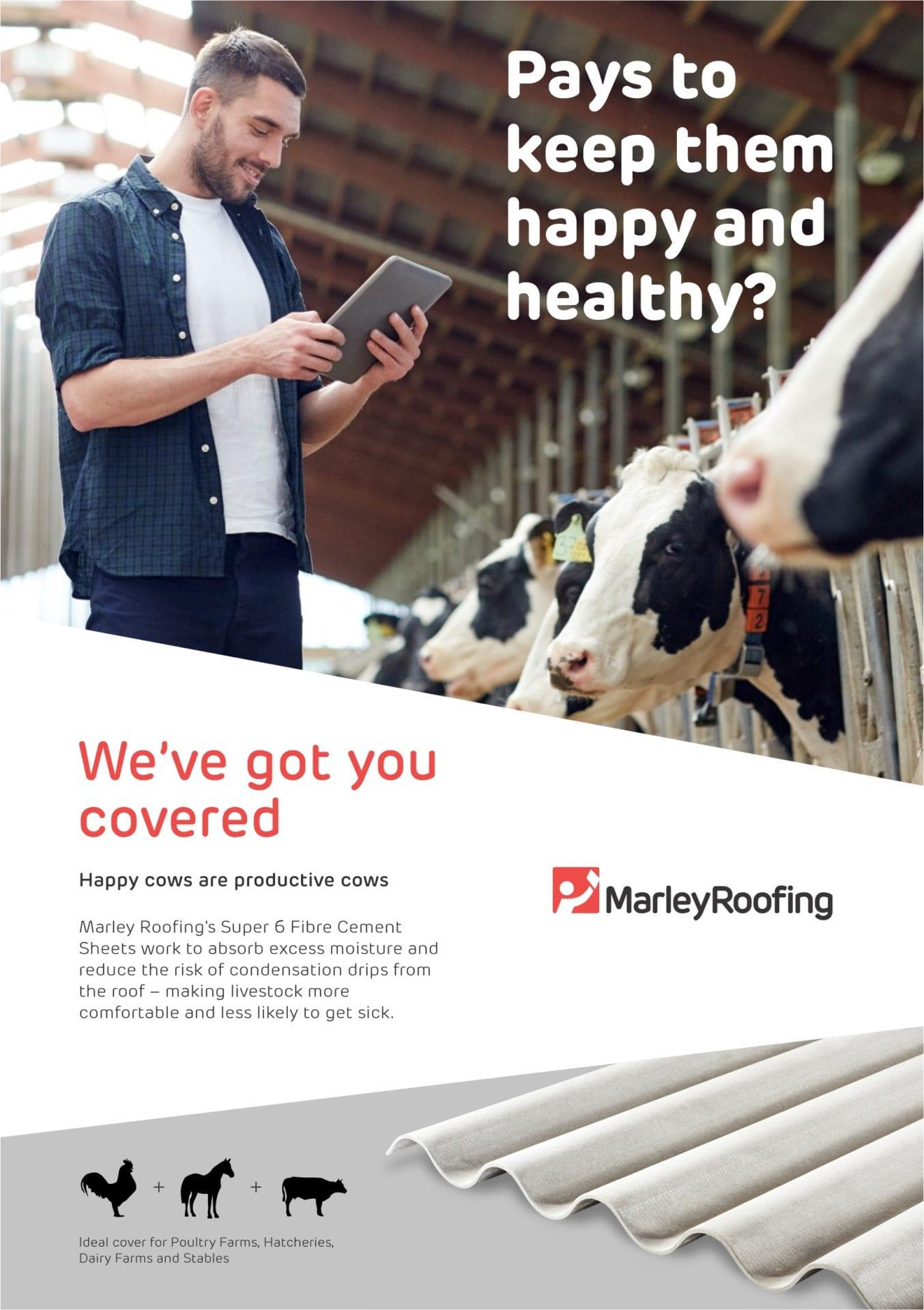 Marley Super 6 Agricultural Brochure Brochure Cover