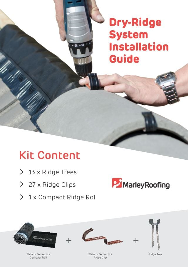 Marley Dry Ridge Installation Guide Brochure Cover