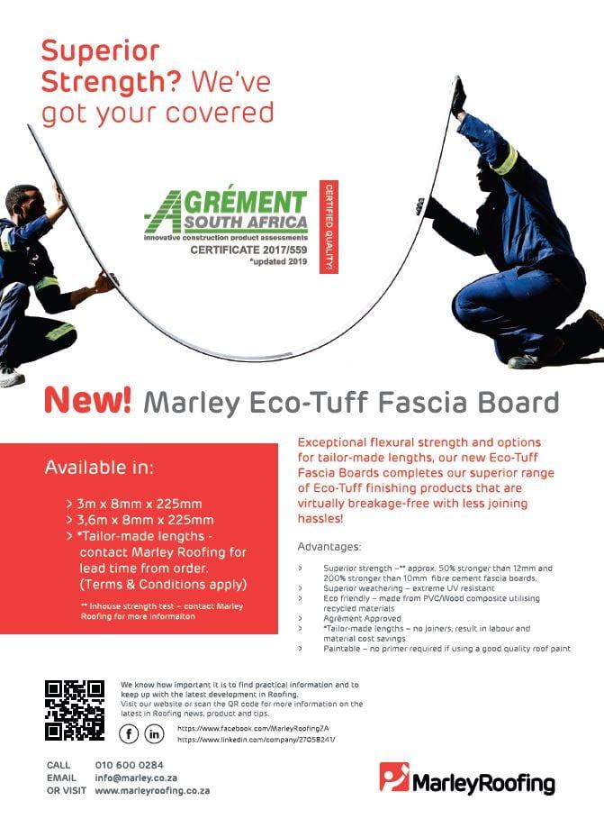 Marley Eco-Tuff Fascia Board Borchure Brochure Cover