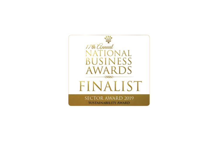 Marley Roofing selected as a finalist for the 17th Annual National Business Awards!